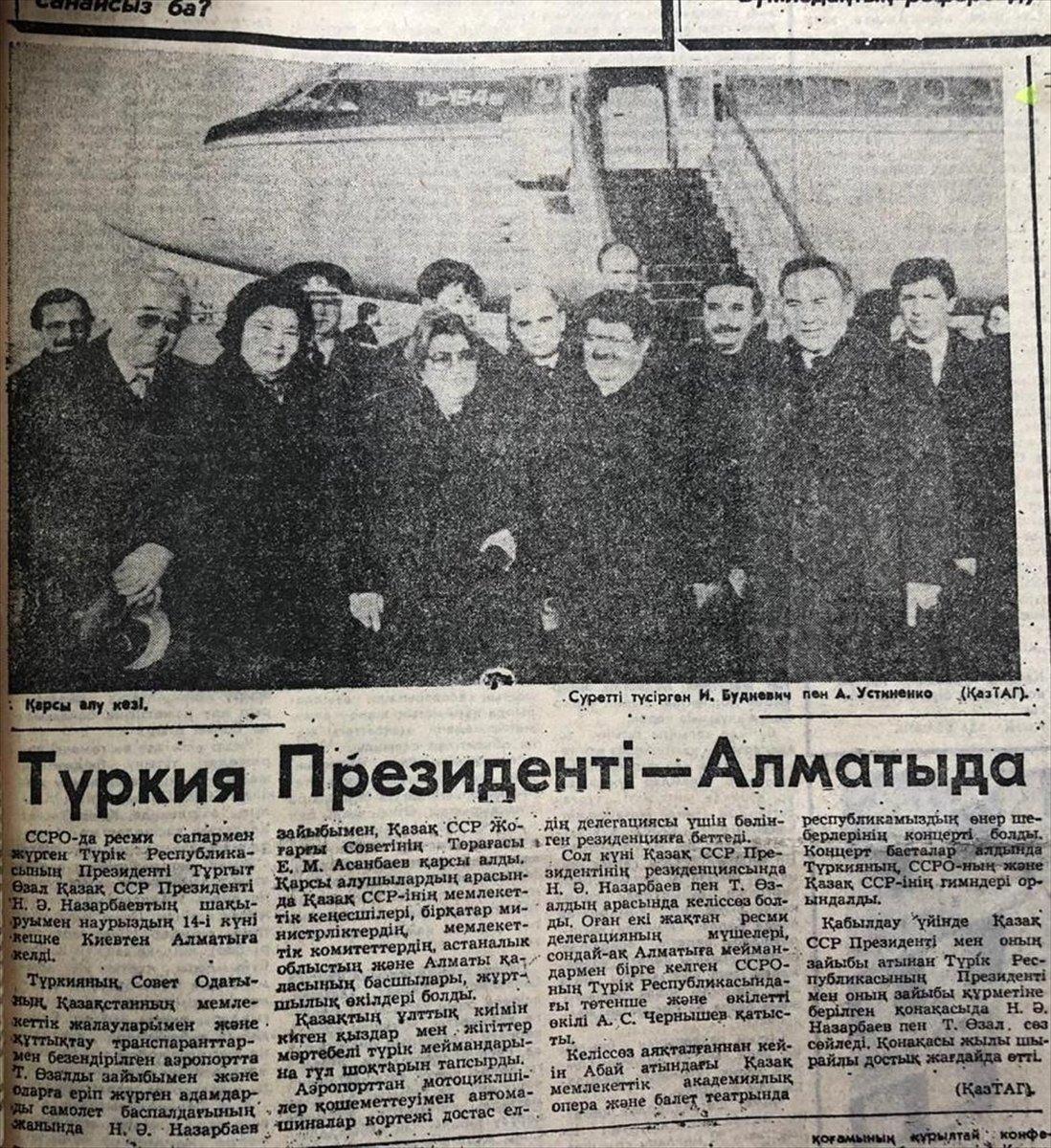Kazakistan, ilk uluslararası anlaşmasını 30 yıl önce Türkiye ile imzaladı #3