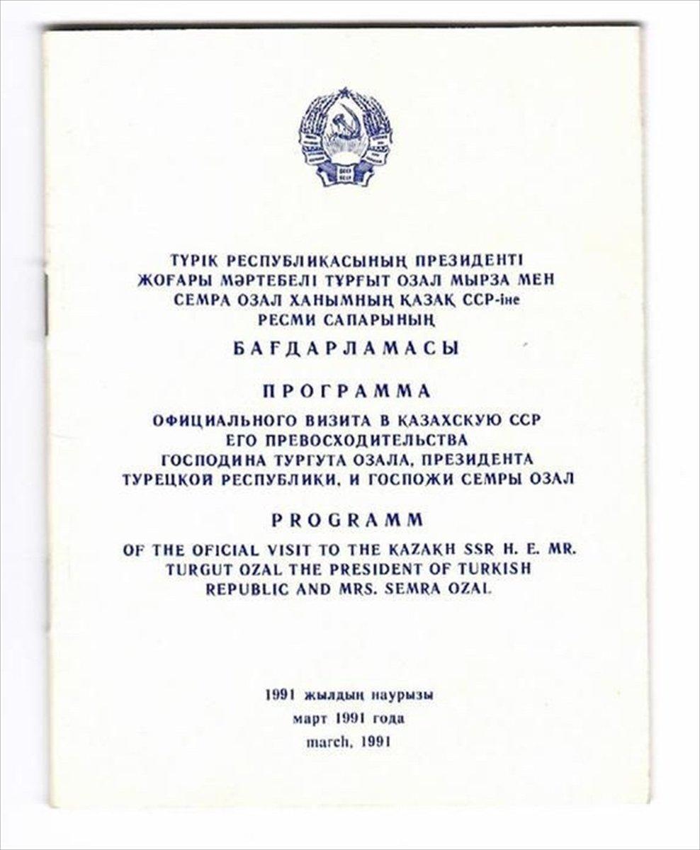 Kazakistan, ilk uluslararası anlaşmasını 30 yıl önce Türkiye ile imzaladı #6