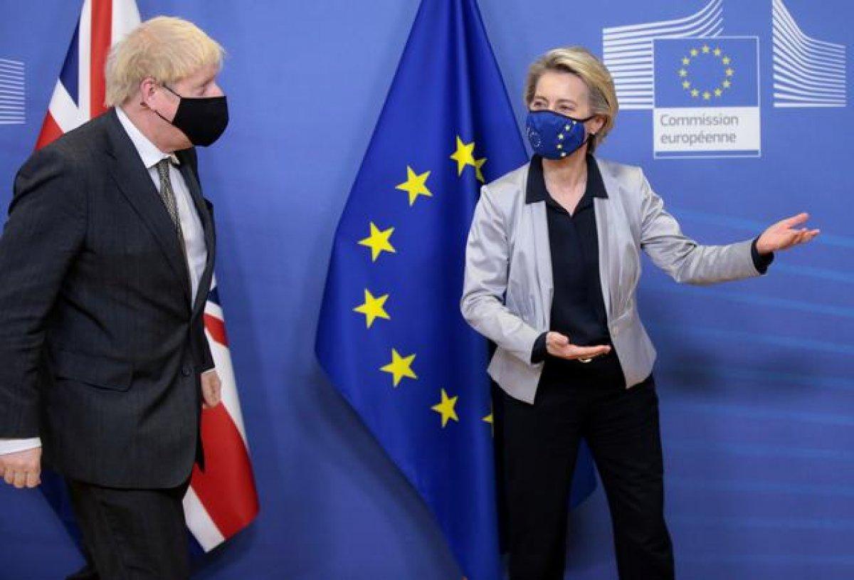 AB den, Brexit anlaşmasını ihlal eden İngiltere ye soruşturma #1
