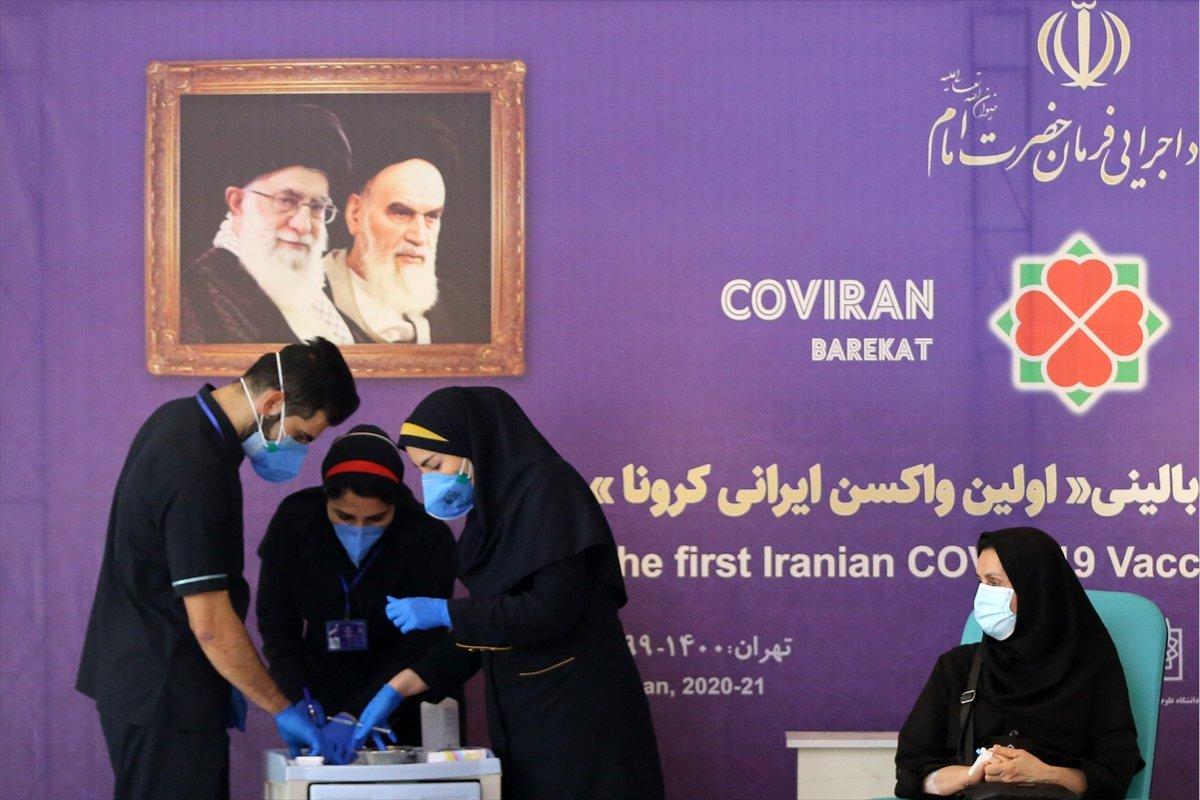 İran da yerli aşının 3. aşama klinik denemesine geçildi #1