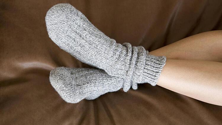6-Çorap seçimine dikkat edin