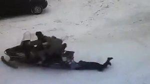 Rusya'da kar aracı çocuğa çarptı