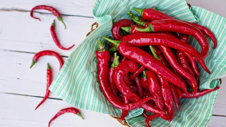 9-Kırmızı biber metabolik ısınızın artmasını sağlar